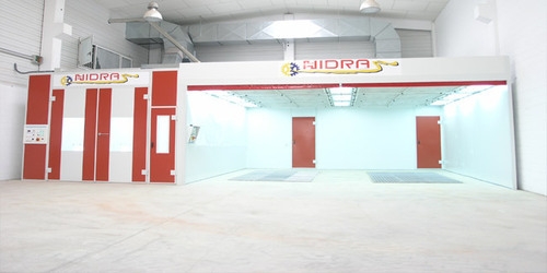 Hidra-spain Downdraft Paint Booth - Global Finishing Systems