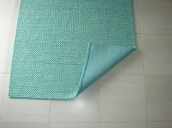 Hand Knit Rug