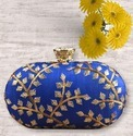 Designer Lock Beautiful Oval Clutch