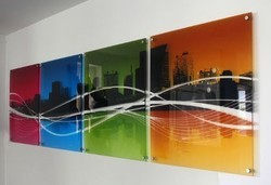 glass printing, Dimension / Size: We Can Print 10x6 Feet