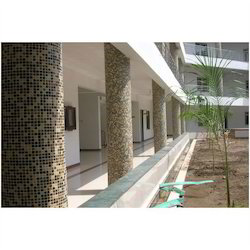 Glass Mosaic Tiles For Pillar