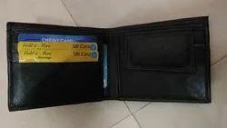 Black, Brown, Tan Leather Wallet
