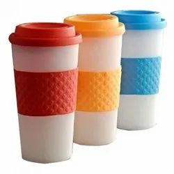 Sai Enterprises Plastic Band Coffee Mug, Size: Standard