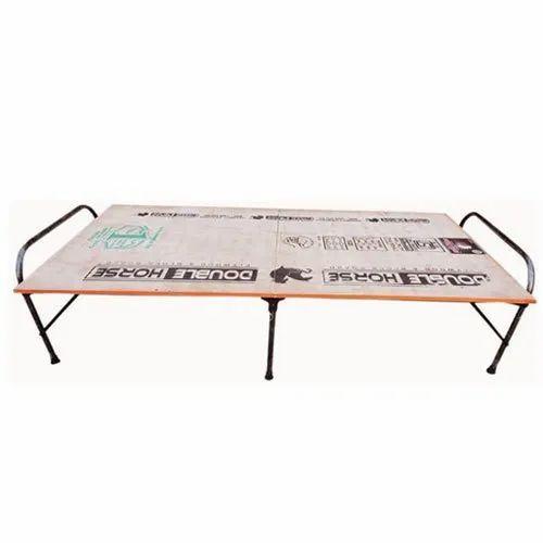 Folding- Plywood Bed
