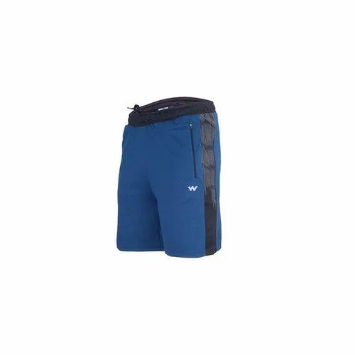 614ce0f874e8 Plain 94% Polyester And 6% Spandex Men  s Shorts Navy Melange