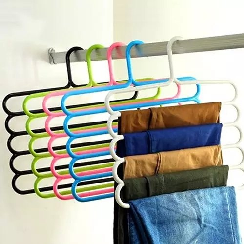 5 Layer Plastic Clothes Hangers