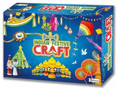 Petals Multicolor Indian Festive Craft Art Craft Diy Creative