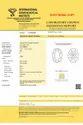 Oval Cut 3.01ct Lab Grown Diamond CVD F SI2 IGI Certified Type2A