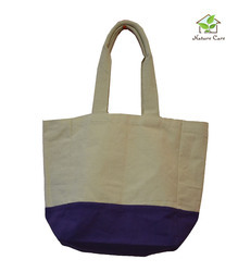 Two Colored Canvas Bag