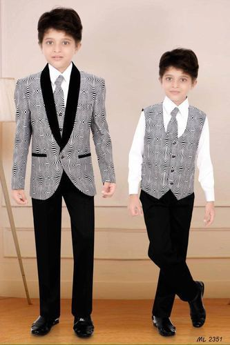 8c1f76f98 Kids Full Sleeves Designer Suit, Age: 3-5 And 5-7 Years, Rs 1395 ...