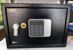 Button With Key Safety Locker