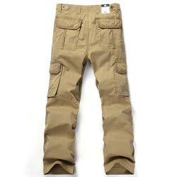 ab9b112477f Medium Light Brown Color Men s Plain Cargo Pant