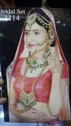 Imitation Kundan Bridal Set