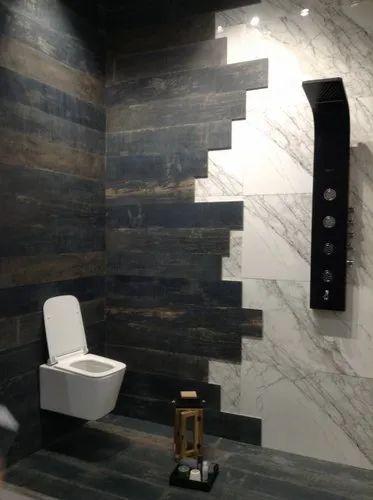Aamphaa Wooden Wall Bathroom Tiles