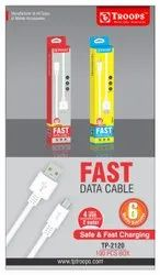2.0 AMP USB TO S3 2 Mtr Cable White