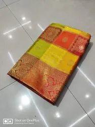 6.3 m (with blouse piece) Banarasi Silk BANARASHI SAREE