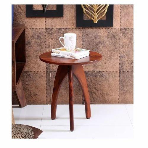 4604 Oak Arbor: Aadvica 4 Kg Honey Oak Arbor Solid Wooden End Table At Rs
