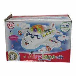 Baby Girls Plastic Aeroplane Toy