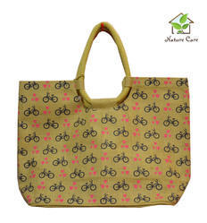 Natural Jute Spacious Fashionable Bag