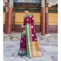 Wedding Wear Occasionally Traditional Silk Saree