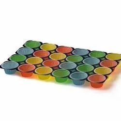 Multicolor Paper 24 Cups Color Muffin Tray