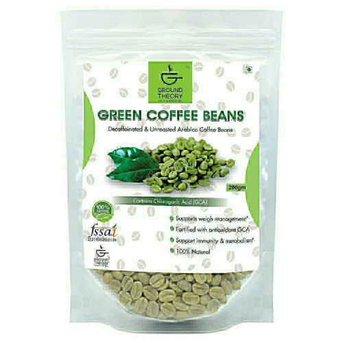 Arabica Ground Theory Green Coffee Beans For Weight Loss Grade