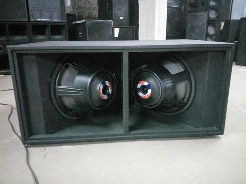 Dual 18'' Lf 7 Bass Fully Louded