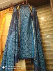 Indigo Suit Material