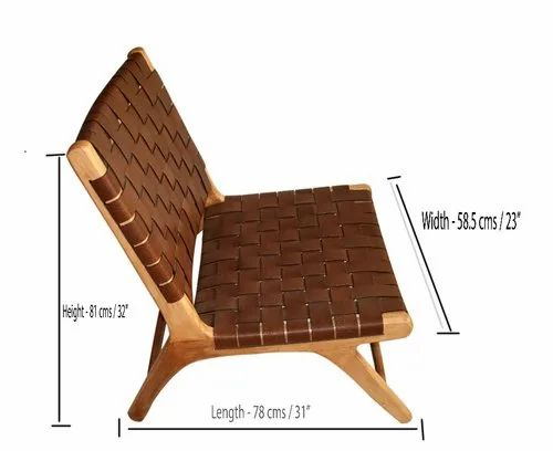 Wooden Leather Chairs