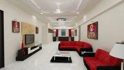 Bungalow Interior Designing Service, 500 Square Feet