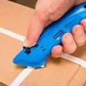 Auto Retract Safety Cutter With Tape Splitter - EZAR