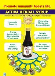 Herbal Composition Immunity Syrup, 200ml, Non Prescription