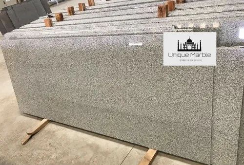 Big Slab Polished Zirawal White Granite for Flooring, Thickness: 15-20 mm