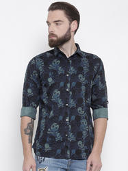 Multi Full Sleeves Mens Casual Shirts