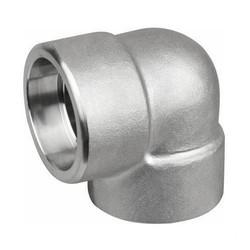 Stainless Steel 90 Deg Socket Weld Elbow