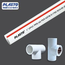 6 Meter UPVC Threaded Pipes