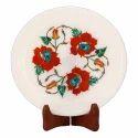 Handicraft Marble Inlay Plates