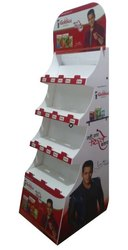 Food Products Floor Display Stand