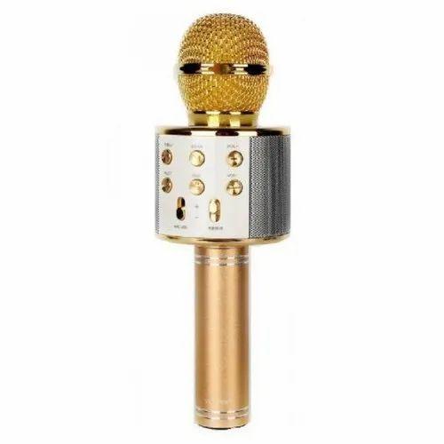 Golden Karaoke Microphone, Model Number: 858
