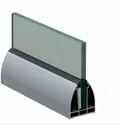 Srs 07 Cp Aluminum Modular Glass Railing Channel