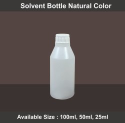 Jyoti Chemical Natural Color Solvent Bottle, Capacity: 25 Ml