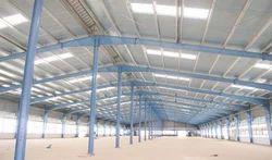 Steel Prefab Warehouse Pre Engineered Building Structure