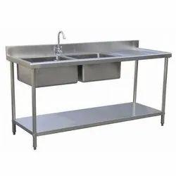 Ss Single Industrial Sink