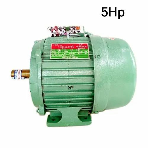 AC Cast Iron 5 Hp Single Phase Electric Motor