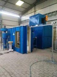 Ceiling fans powder coating plant