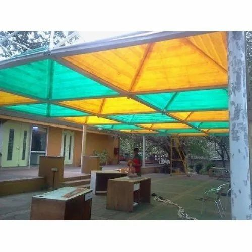 Pyramid Outdoor FRP Canopy