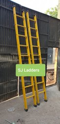 Wall Supporting Fiber Ladder