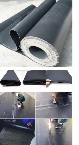 EPDM waterproofing membrane for mechanical fixation