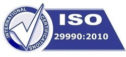 ISO 29990 Certification Services, education and training Center