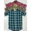 Trap Full Sleeve Designer Check Shirt